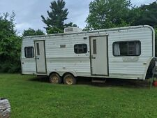1985 Travel Trailer- Camper,Car Hauler,Enclosed,Hunting or Tiny House project
