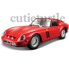Bburago Ferrari Race & Play Ferrari 250 GTO 1:24 Diecast Model Car 26518 Red
