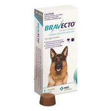 Bravecto Large Dog Blue 20-40kg Single Chew Flea & Tick Control