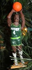 MILWAUKEE BUCKS SIDNEY MONCRIEF GREEN JERSEY CHRISTMAS ORNAMENT vintage