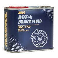 MANNOL Brake Fluid DOT-4 Bremsflüssigkeit SAE J 1703/ ISO 4925, 0,5 Liter