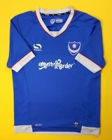 Portsmouth jersey small 2016 2017 home shirt Sondico soccer football ig93