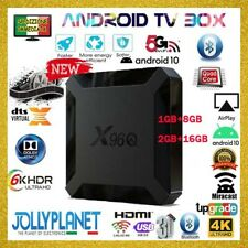 TV BOX X96Q ANDROID 10.0 1/8GB + 2/16GB Allwinner Smart TV Quad-Core X96 Q Mini