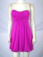 Speechless Purple Metallic Strapless Sweetheart Dress Juniors Size Small 3 5