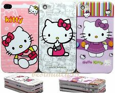 fits IPHONE 4 4S CASE whole sale bulk 3x  hello kitty hot PINK purple white//