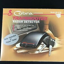 Vintage Cobra Trapshooter Radar Detector RD-2110 NEW