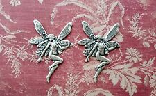 Oxidized Silver Fairy Stampings (2) - Sos6431