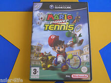MARIO POWER TENNIS - GAMECUBE - Wii Compatible