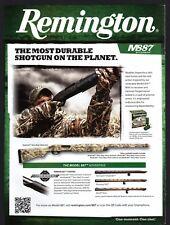 2011 REMINGTON Model 887 Nitro Mag Waterfowl Shotgun AD Gun Hunting Advertising