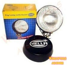 Hella Round Fog Lamp Clear Glass + Cover Without bulb - Universal Fit