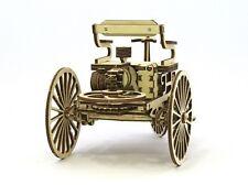 Vintage primer coche-woodtrick 3D modelo de madera mecánica