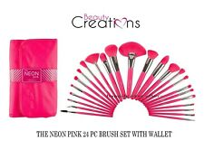 Beauty Creations THE NEON PINK 24 PC BRUSH SET - Great Quality *Authentic**