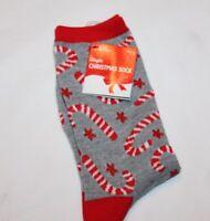 Christmas Holiday Reindeer Face Stocking Stuffer Women/'s Socks Size 9-11