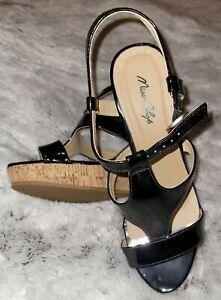 Miss Shop Ladies Wedge Heel Sandals Size 8
