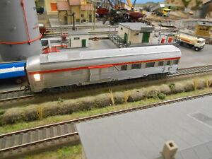 JOUEF Ho # fourgon A2Dx TEE inox PBA SNCF réf. 5550 # éclairage # 2F#