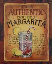 "Blechschild ""Margarita"" Cocktail Diner Bar Café Bistro Kneipe Pub 25x20cm neu"
