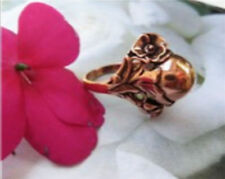 "Solid Copper Band Ring CR035. - 3/8"" inch tall. - Available in sizes 5, 7 and 11"