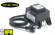 HPM 12V AC 150W Weatherproof Garden Light Stepdown Transformer IP56