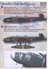 Print Scale Decals 1/72 HANDLEY PAGE HALIFAX Medium Bomber Part 3