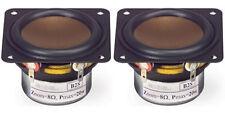 "NEW (2) 2"" Woofer Speakers.Full Range Shielded PAIR.8ohm.Two inch.2-1/8"" frame"