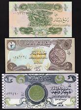 IRAQ 3 PCS SET 1/4 - 1/2 - 1 DINAR, UNC, 1992-1993, P-77 78 79