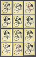 1957 Raleigh Bicycles Large Tobacco Cards Near Set of 43/48