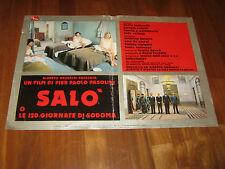 Fotobusta Salo or The 120 Days of Sodom, Pier Paolo Pasolini