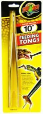 "LM Zoo Med Feeding Tongs - Stainless Steel 10"" Long Feeding Tongs"