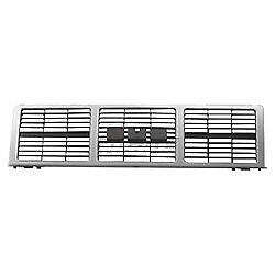 Front Grille Silver For 1985-1988 GMC C1500 K2500 GM1200401