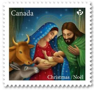 2020 Canada Post 📭🎅 CHRISTMAS Issue 🎅🍁 NATIVITY SCENE 📫 MNH Booklet Single
