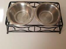 Dog Food & Water Bowl Set