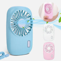 Mini USB Portable USB Rechargeable Hand Held Air Conditioner Cooler Cooling Fan#