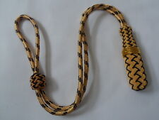 BRITISH MILITARY ISSUE SWORD KNOT GOLD AND DARK NAVY