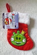 Kid Angry Birds Christmas Holiday Stocking Red New