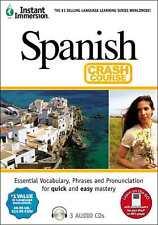 New 3 audio CD's Learn to speak SPANISH Language easily