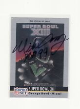 MIKE CAREY NFL REFEREE AUTOGRAPHED CARD WITH ENVELOPE
