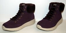 Skechers On The Go City 2 Winter Chill Ankle Boots Burgundy Womens Size 7.5W New