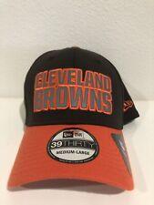 half off c23a6 67f71 Cleveland Browns Hat NFL Sideline Cap Era Flex Fit 39thirty Brown