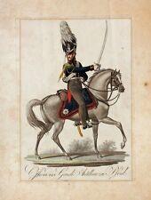 Jügel Preußen Offizier Garde-Artillerie Uniform Tschako Säbel Epaulette Napoleon