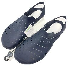 Crocs Swiftwater Wave Men's 10 Navy White Water Shoes Sandals New