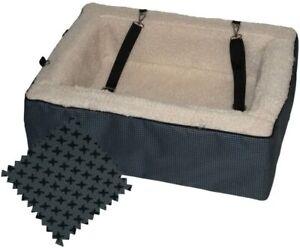 Pet Gear Medium Designer Booster Car Seat (Slate)