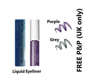 Avon ColorTrend Liquid Eyeliners Grey or Purple Discontinued BNIB **FREE P&P**