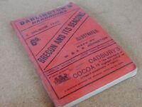 Vintage Darlington's Handbooks Brecon and its Beacons , Lots of vintage adverts
