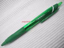 3 Green pens x Uni-Ball JetStream SXN-150 0.7mm Oil Based retractable Ballpoint