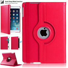 """360° Rotating Smart Case Leather Cover For Apple iPad 9.7"""" 2018 (6th Generation)"""