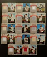 2019 Heritage HIGH NUMBER CLUBHOUSE COLLECTION RELIC You Pick Complete Your Set