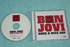 Bon Jovi Maxi-CD Have A Nice Day - UK 4-track incl. Video - 9884894-4 (11)