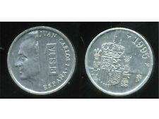ESPAGNE  1 pesetas 1995    JUAN CARLOS I  SC DE CARTUCHO  ( bis )