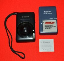Canon PowerShot SD1400 IS 14.1MP Digital Camera 4x Zoom With Charger & Batteries