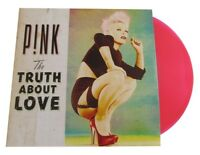 P!NK - THE TRUTH ABOUT LOVE 2 PINKFARBENE VINYL  PINK LP + CD NEU